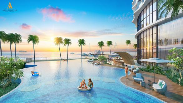 Xuất hiện căn hộ 5 sao chuẩn Âu sở hữu bãi biển riêng tại Vũng Tàu